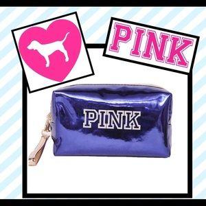Pink makeup bag waterproof